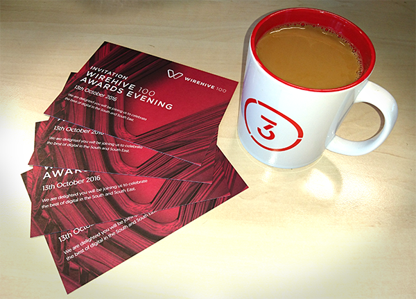 Wirehive100 Tickets and coffee