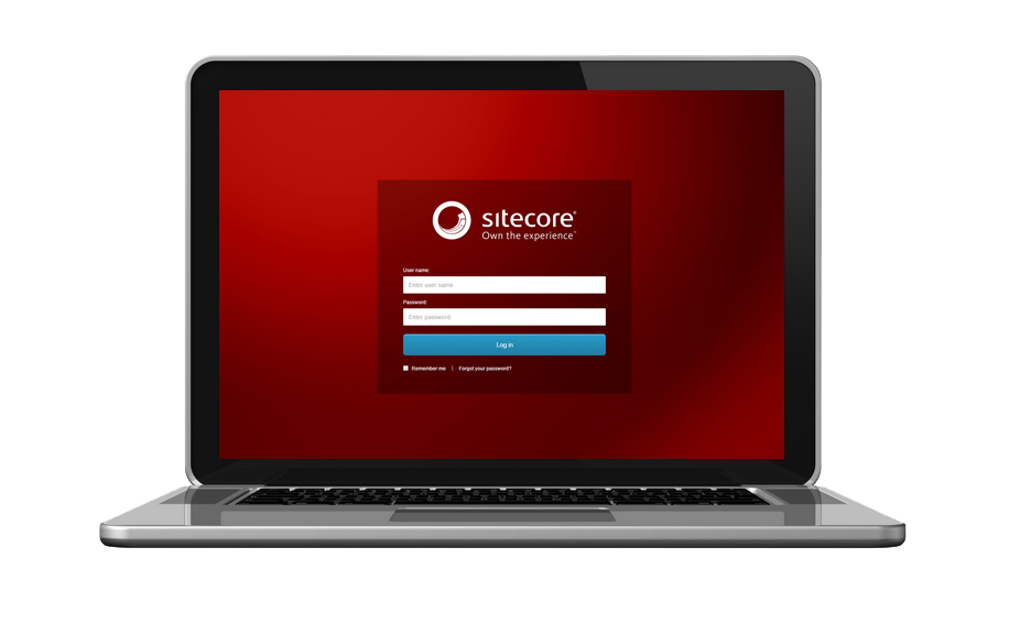 Sitecore 8 Login Screen