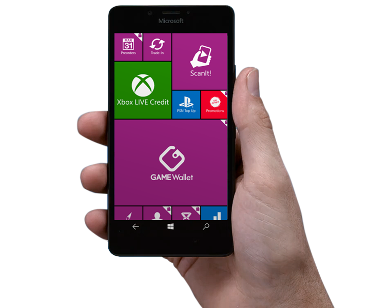 Windows Phone Game Reward App